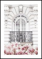 Marble Wall Balcony Poster