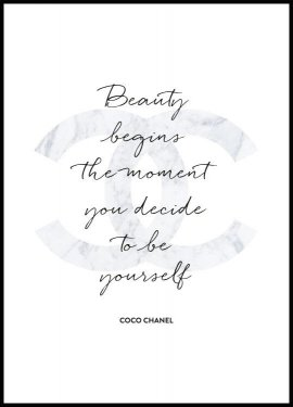 Poster Coco Chanel