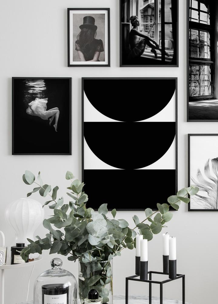 Bold Shapes Poster