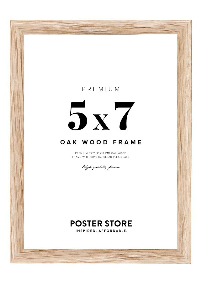 Oak Frame 5x7 in